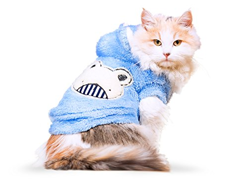PLS-Pet-Halloween-Hoodie-for-CatsHoodie-for-Dogs-Winter-Dog-Coat-Dog-Costume-Cat-Costume-Protects-from-Cold-Weather-Halloween-Sale-0