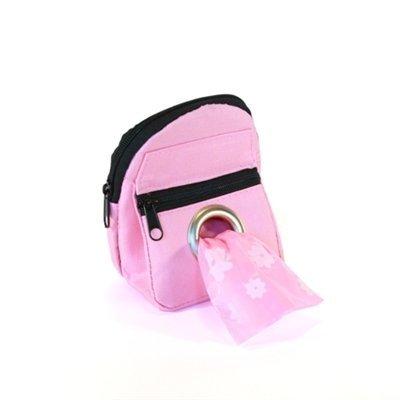 POOCH-POUCH-Pink-Backpack-Dispenser-Dog-Waste-Pick-Up-Bags-20ea-0