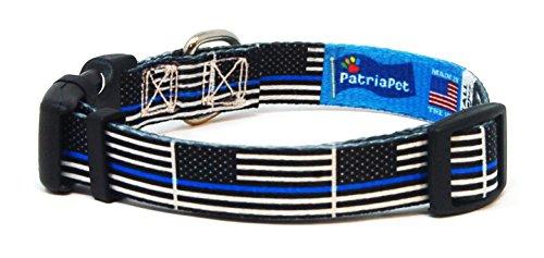 PatriaPet-Thin-Blue-Line-Dog-Collar-Benefits-Police-Unity-Tour-0-0