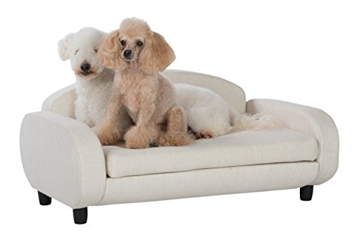 Paws-Purrs-Pet-Upholstered-Sofa-Bed-Oatmeal-0-0