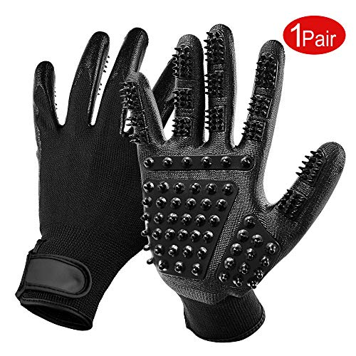 Pet-Grooming-Gloves-Comfortable-Efficient-Pet-Hair-Remover-Enhanced-Five-Finger-Design-Perfect-for-Dog-Cat-with-Long-Short-Fur-Pair-of-Flexible-Brush-Mitts-for-Shedding-Bathing-Massaging-0