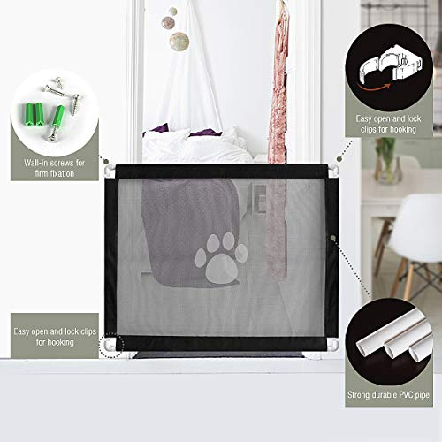 Pet-Leso-Magic-Gate-for-Dogs-Lock-PVC-Screen-Dog-Gates-for-Indoor-Pet-Safety-Gate-Portable-Easy-Install-393315-0-0