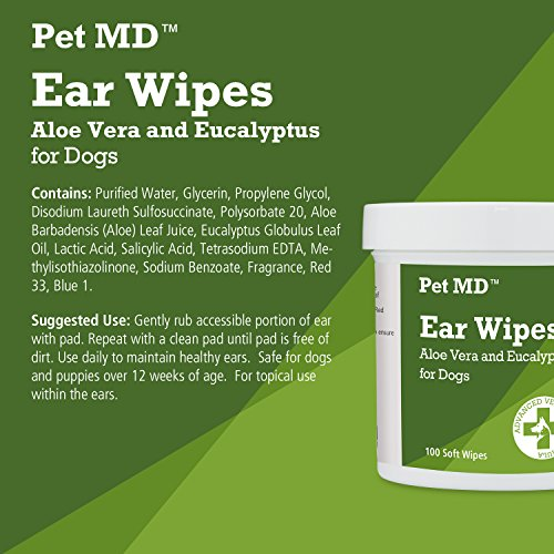 Pet-MD-Dog-Ear-Cleaner-Wipes-Otic-Cleanser-for-Dogs-to-Stop-Itching-Yeast-and-Mites-with-Aloe-and-Eucalyptus-100-Count-0-2