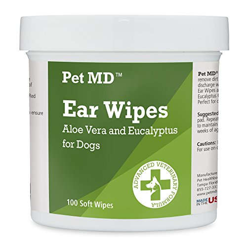 Pet-MD-Dog-Ear-Cleaner-Wipes-Otic-Cleanser-for-Dogs-to-Stop-Itching-Yeast-and-Mites-with-Aloe-and-Eucalyptus-100-Count-0