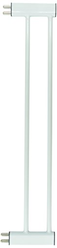 Pet-Studio-SteelPlastic-Pet-Gate-Extension-Small-White-0