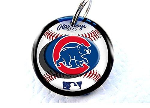 Pet-Tags-Sports-Baseball-Chicago-CC-Custom-Pet-ID-Tag-Dog-tag-cat-DBL-0