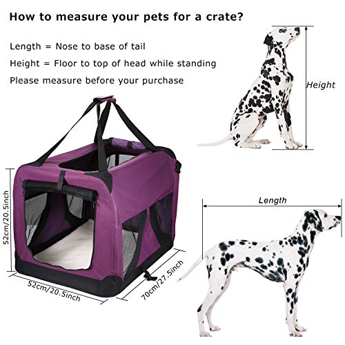 Pettom-Dog-Crate-Soft-Sided-Kennel-for-Pet-Indoor-Home-Outdoor-Use-3-Door-Folding-Collapsible-Travel-Carrier-for-Medium-Large-Dogs-0-1