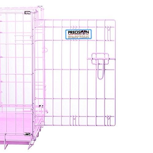 Precision-Pet-ProValu-Double-Door-Dog-Crate-Pink-0-0