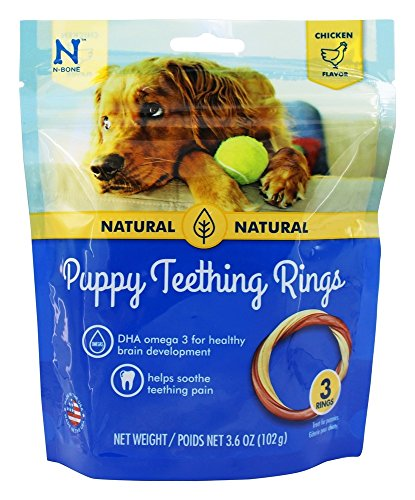 Puppy-Teething-Toys-Puppy-Teething-Ring-Bones-Puppy-Treats-Chicken-Natural-Dental-Chews-Best-For-Puppy-Chewing-Puppy-Teething-Set-With-Squeaky-Ball-and-3-Teething-Rings-Puppy-Chew-Bundle-0-0