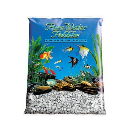 Pure-Water-Pebbles-Aquarium-Gravel-25-Pound-Silver-Frost-0