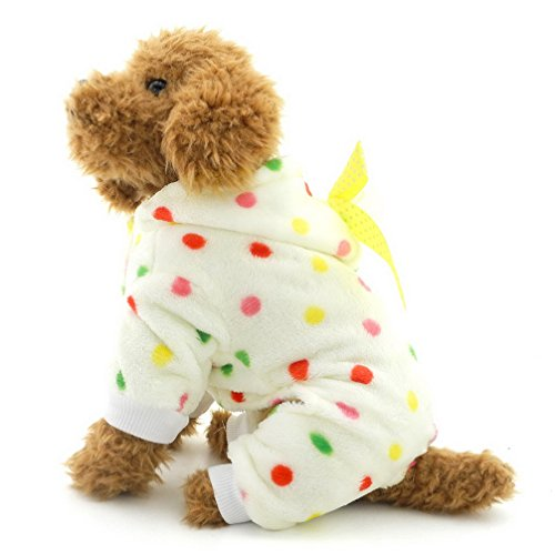 Ranphy-Cute-Small-Dog-Fleece-Pajamas-Dots-Puppy-Outfits-Hoodies-Soft-Cozy-PJ-Four-Leg-Pet-Jumpsuit-Lovely-Chihuahua-Clothes-0-0