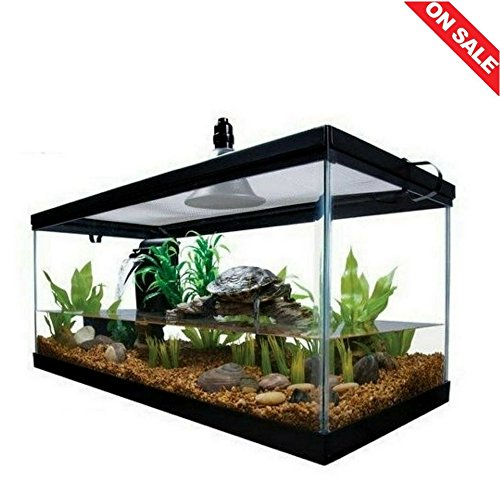 Reptile-Habitat-Setup-Aquarium-Tank-Kit-Filter-Screen-Lid-Bask-Lamp-Turtle-Frog-eBook-by-Easy2Find-0