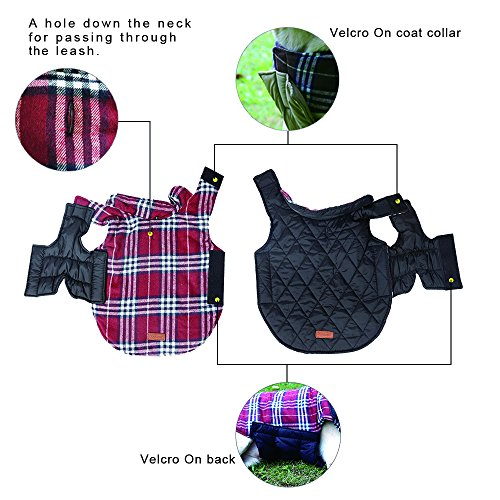 Reversible-British-Style-Grid-Dog-JacketWater-Repellent-Quilted-Winter-Clothes-for-Pet-0-1