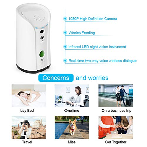 SKYMEE-Dog-Camera-Treat-DispenserWiFi-Remote-Pet-Camera-with-Two-Way-Audio-and-Night-VisionCompatible-with-Alexa-0-0