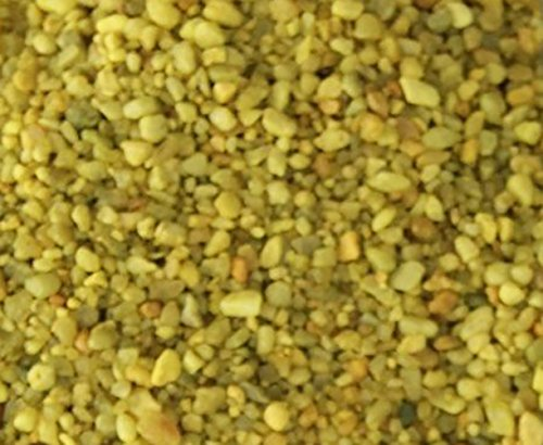 Safe-Non-Toxic-Small-Size-012-to-025-Inch-5-Pound-Bag-of-Acrylic-Coated-Gravel-Pebbles-Decor-for-Freshwater-Aquarium-w-Vibrant-Daffodil-Inspired-Bright-Sunny-Style-Yellow-0