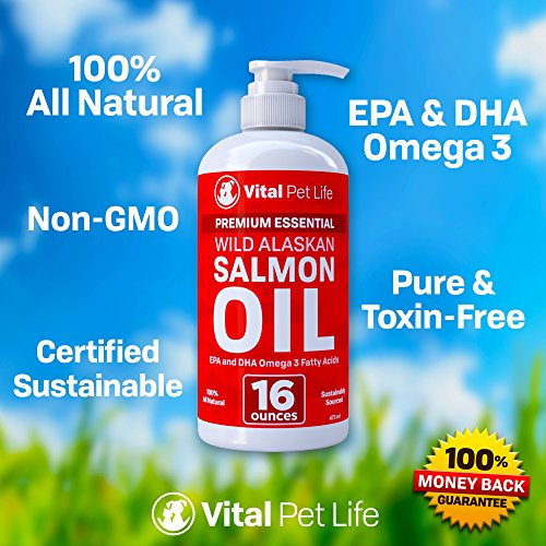 Salmon-Oil-for-Dogs-Cats-and-Horses-Fish-Oil-Omega-3-Food-Supplement-for-Pets-Wild-Alaskan-100-All-Natural-Helps-Dry-Skin-Allergies-and-Joints-Promotes-Healthy-Coat-Helps-Inflammation-16-oz-0-1