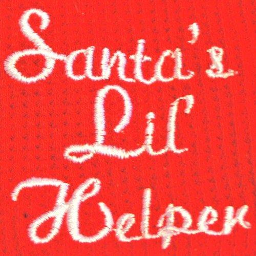 Santas-Lil-Helper-Embroidered-Thermal-Dog-Pajamas-X-Small-0-0