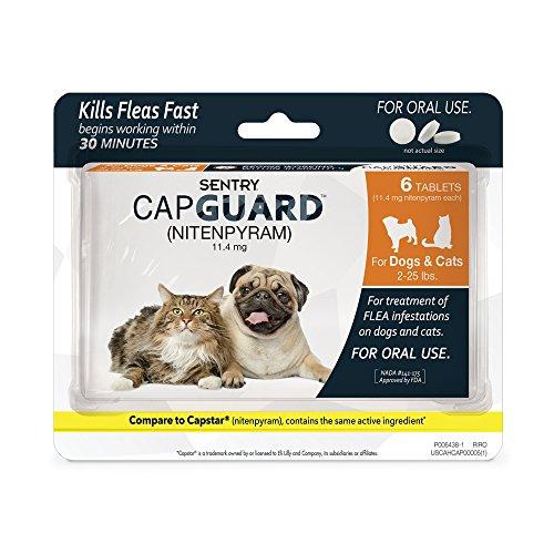 Sentry-Capguard-nitenpyram-Oral-Flea-Control-Medication-0
