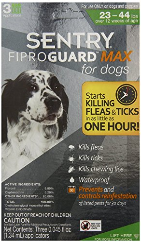 Sentry-FiproGuard-Max-Topical-Flea-and-Tick-for-Dogs-0