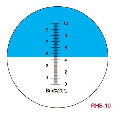 Sinotech-Hand-Held-Brix-0-10-Cutting-Liquid-Refractometer-Rhb-10atc-Blue-Grip-0
