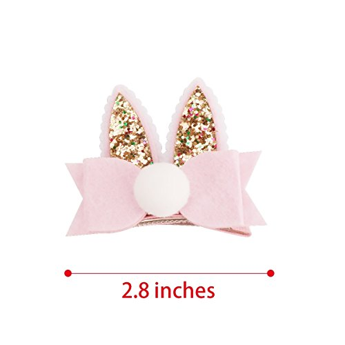 Sufermoe-16-Pcs-Cat-Ear-Hair-Bows-Clips-Rabbit-Ear-Hair-Barrettes-Hair-Accessories-for-Pet-or-Dogs-0-2