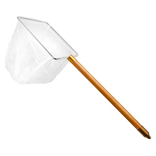Taam-ATATW812W-Wood-Handle-Net-for-Aquarium-8-Inch-by-65-Inch-by-12-Inch-White-0-0