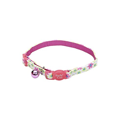 Too-Flower-Frenzy-Cat-Collar-38-Inch-Wide-Adjustable-8-12-0