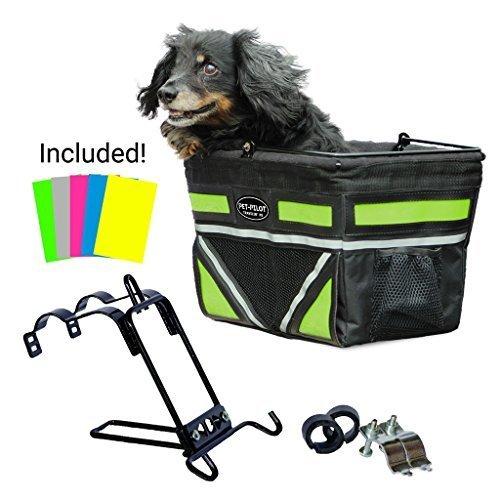 Travelin-K9-2019-Pet-Pilot-Dog-Bike-Basket-Carrier-9-Color-Options-for-Your-Bicycle-0