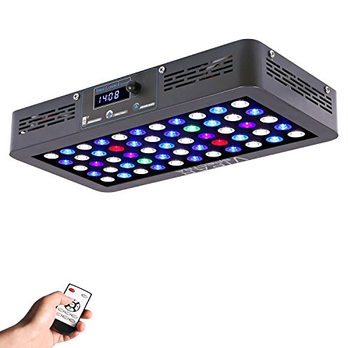 Viparspectra Timer Control Series Led Aquarium Light Dimmable Full Spectrum For Coral Reef Grow