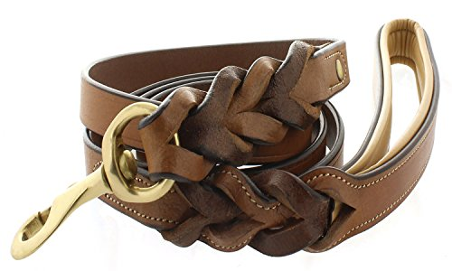Viosi-Kingston-Leather-Braided-Dog-Leash-with-Leather-Padded-Handle-0