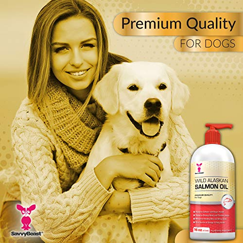 Wild-Alaskan-Salmon-Oil-for-Dogs-Cats-Ferrets-16-32-oz-Pure-Unscented-Omega-3-Fatty-Acid-Liquid-Fish-Oil-Supplement-Rich-in-EPA-DHA-for-Pets-Helps-Joints-Dry-Skin-Coat-Just-Pump-on-Food-0-0