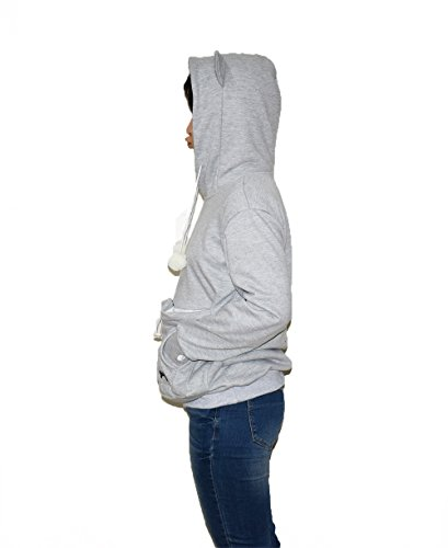 Womens-Hoodies-Pet-Holder-Cat-Dog-Kangaroo-Pouch-Carriers-Pullover-Sweatshirt-0-0