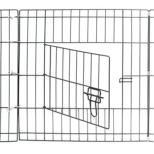 Yoshioe-24-Tall-Metal-Pet-Playpen-Folding-Exercise-Wire-Fence-8-Panel-Yard-Hammigrid-Outdoor-0-1