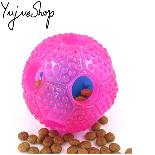 YujueShop-Interactive-Dog-Chew-Toys-IQ-Treat-Food-Dispensing-Ball-for-Small-Medium-Dogs-Cats-Puppy-Kitty-Durable-Resistant-Nontoxic-Rubber-Toys-0-0