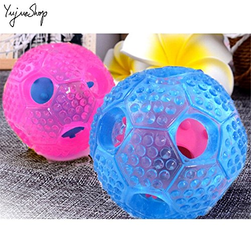 YujueShop-Interactive-Dog-Chew-Toys-IQ-Treat-Food-Dispensing-Ball-for-Small-Medium-Dogs-Cats-Puppy-Kitty-Durable-Resistant-Nontoxic-Rubber-Toys-0-2