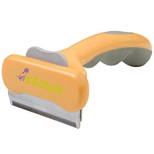 Zampa-Shedding-Tool-For-Pets-Grooming-Brush-For-Dogs-Cats-Easily-Reduces-Shedding-By-90-Best-Shedding-Blade-For-Short-Or-Long-Hair-Ejects-Hair-Easily-0