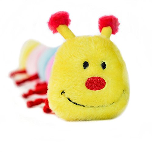 ZippyPaws-Colorful-Caterpillar-Squeaky-Stuffed-Plush-Dog-Toy-0-1