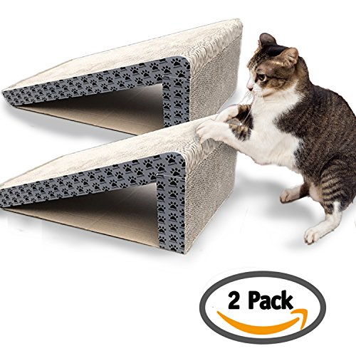 iPrimio-Cat-Scratcher-Ramp-Foldable-for-Travel-and-Easy-Storage-Great-for-Cats-Playing-Over-Under-and-Scratching-Patent-Pending-Design-0