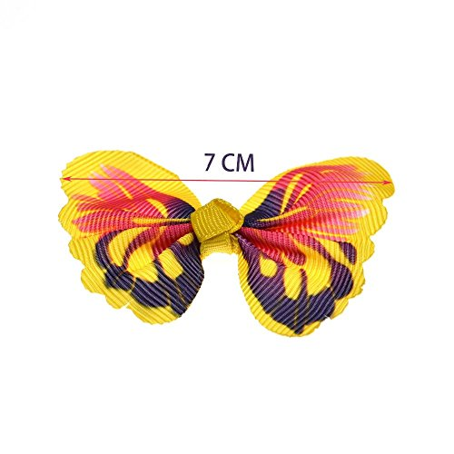 yagopet-24pcs12-Pairs-New-Dog-Hair-Bows-Rubber-Bands-Butterfly-Nice-Dog-Topknot-28-Durable-Small-Bowknot-Pet-Grooming-Products-Accessories-0-0