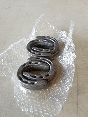 10-pc-Cast-Iron-Horseshoes-3-12-x-3-Pony-Size-for-Decoration-and-Crafts-wToken-0-0