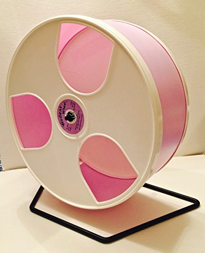 12-DIAMETER-HEDGEHOG-WODENT-WHEEL-WITH-WIDE-TRACK-LAVENDER-WITH-WHITE-PANELS-0