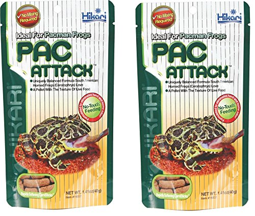 2-Pack-Hikari-Packman-Frog-PAC-Attack-Food-141-Ounce-each-0