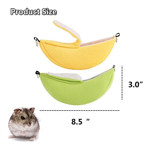 2-Pack-of-Hamster-Bedding-Sugar-Glider-Cage-Accessories-Hammock-Hamster-House-Toys-for-Small-Animal-Sugar-Glider-Squirrel-Chinchilla-Hamster-Rat-Playing-Sleeping-0-1