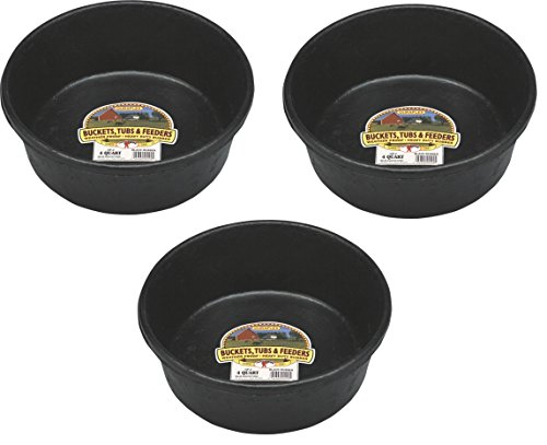 3-Pack-Miller-Manufacturing-HP-2-4-Quart-Rubber-Feed-Pans-0