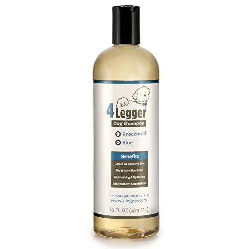 4-Legger-Certified-Organic-Hypoallergenic-All-Natural-Aloe-Dog-Shampoo-Unscented-Gentle-Moisturizing-Conditioning-for-Soothing-Relief-of-Dry-Itchy-Sensitive-Allergy-Skin-Made-in-USA-16-oz-0