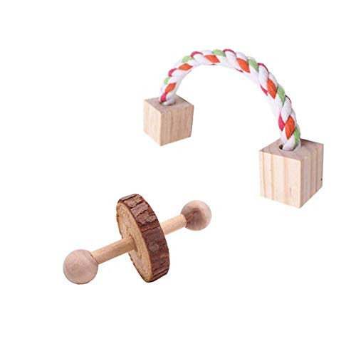 7pcs-Hamster-Chew-Toys-Natural-Wooden-Pine-Dumbells-Exercise-Bell-Roller-Teeth-Care-Molar-Toy-for-Rabbits-Rat-Guinea-Pig-and-Other-Small-Pets-Play-Toy-0-2