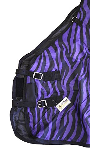 AJ-Tack-Wholesale-600D-Medium-Weight-Horse-Turnout-Blanket-Water-Proof-Ripstop-0-1