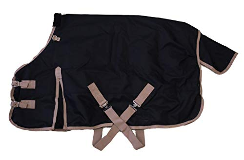 AJ-Tack-Wholesale-Pony-Horse-1200D-Turnout-Blanket-Rip-Stop-Water-Proof-Medium-Weight-0