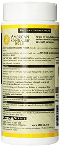 AMERICAN-KENNEL-CLUB-GOLD-Deep-Clean-Carpet-Powder-16-Ounce-Spring-Green-0-1