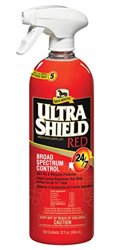 Absorbine-32-oz-Ultra-Shield-RED-247-Protection-Fly-Spray-Powerful-Kills-Repels-Insect-Spray-0